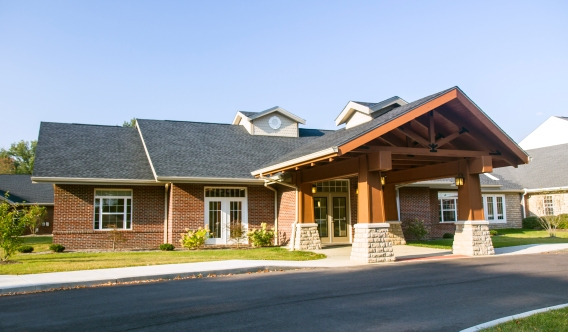 Legacy Village rehab center exterior 1